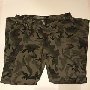 Faded Glory camouflage pants.